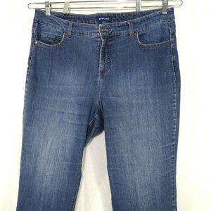 Bandolino Mandie Jeans Women Plus Size 18W Blue